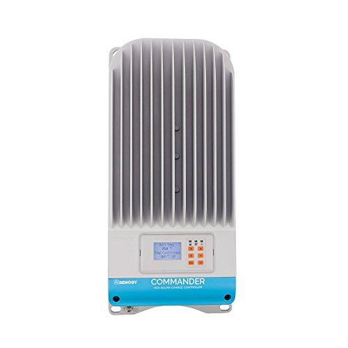 (Renogy Commander 60 Amp 12V/24V/36V/48V MPPT Negative Ground Solar Charge Controller Regulator Compatible with Sealed Lead-acid, Flooded, and Gel Batteries)