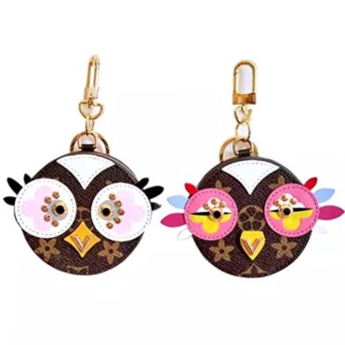 n Pendant, Owl Birdie Bag Charm Key Holder, Monogram Canvas (Louis Vuitton Bag Charm)