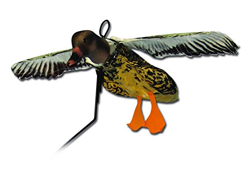 Deadly Decoy Hen Mallard Flyer Decoy, Multicolor
