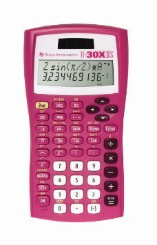 2-Line Scientific Calculator, Pink by Texas Instruments