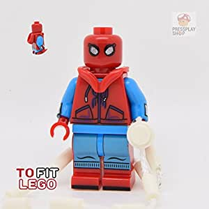 SpiderMan Homecoming V3 - Custom Minifigure - To Fit Lego by PressPlayShop