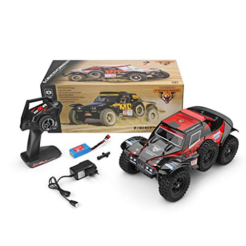 Hot  Wl 540 Brush Motor RC Off-Road Car 1:12 2.4G 4WD 60km/h High Speed Radio Remote Control Car Racing, RC Car Toys for Kids Age 8+ (red) by Hisoul (Image #1)