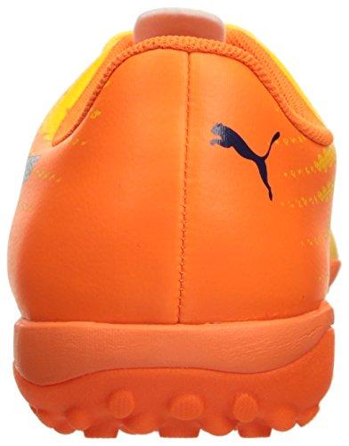 Puma Mens Evospeed 17,4 Tt Fotboll Sko Extremt Gul-peacoat-orange Clownfisk