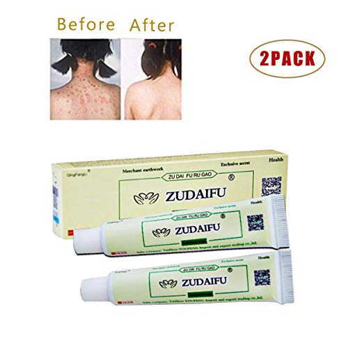 2PACK Antibacterial Ointment Creams Natural Herbal Creams for CEZUBEM Psoriasis Eczema Peeling ZUDAIFU Herbal Creams