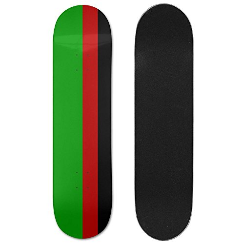 Afghan Flag Beautiful Sports Skateboard Longboards Deck Print School Skateboard Long Plate Double Play Scooter Cruiser (Beautiful Afghan)