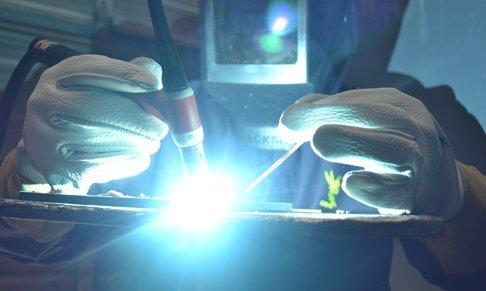 (12 PAIRS) Weldas DEERSOsoft Pearl Grain Deerskin, 4'' Cowhide Cuff - Welding MIG/TIG Gloves - Kevlar Sewn - Size L by Weldas (Image #3)