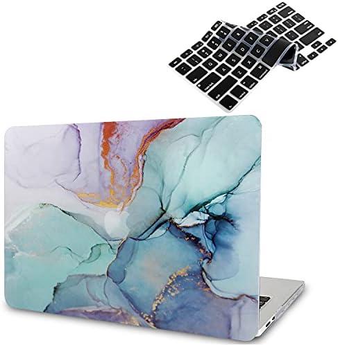 B BELK Funda para MacBook Air 2020 (Modelo: A2337 M1 A2179 A1932), Efecto 3D Funda para MacBook Air de 13,3 Pulgadas 2019 2018 con Touch ID + 2 ...