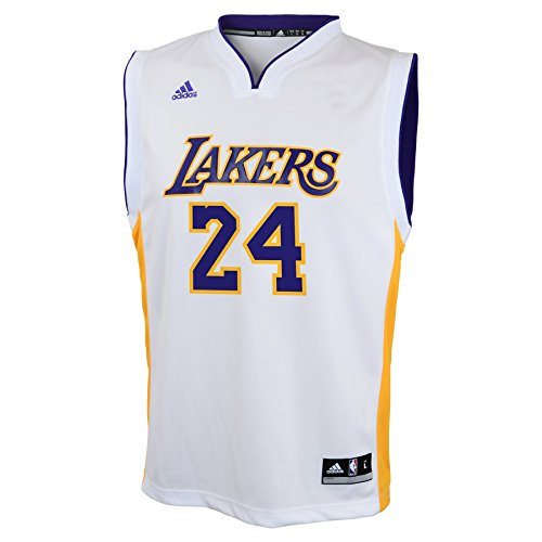 31431deb65c NBA Los Angeles Lakers Kobe Bryant Alternate Youth Jersey (White, Large)