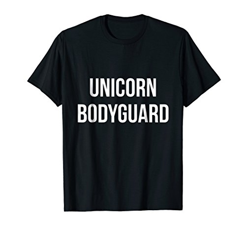 Unicorn Bodyguard Halloween costume for dad daughter ()