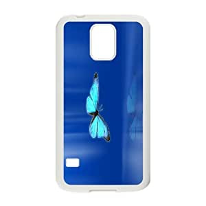 High Quality Phone Back Case Pattern Design 12Colorful Butterfly- For Samsung Galaxy S5