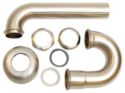 - BrassCraft BC7111-NS P-Trap NUTS SATIN NICKEL