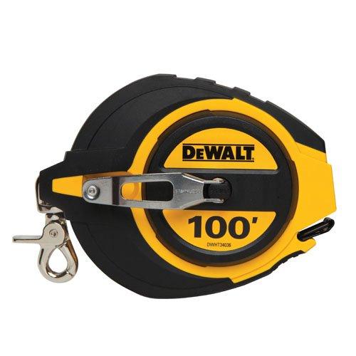 DEWALT DWHT34036L 100-Foot Closed Case Long Tape by DEWALT