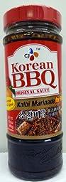 Cj Korean BBQ Original Sauce Kalbi Marinade Pack of (2)