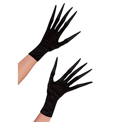 Suit Yourself Long Fingered Gloves for Adults, One Size, With Elongated, Pointy Fingers for a Sinister Look
