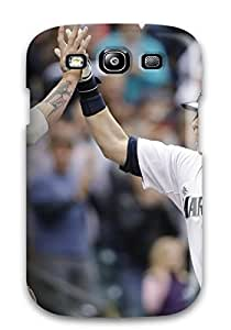 Hot Snap-on Seattle Mariners Hard Cover Case/ Protective Case For Galaxy S3