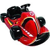 New Cta Wi-Racer Nintendo Wii Inflatable Car With Pump Red Strong & Durable Comfortable Seat