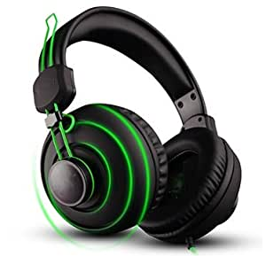 Amazon.com: Gaming Headset,3.5mm Wired Bass Stereo Noise ...