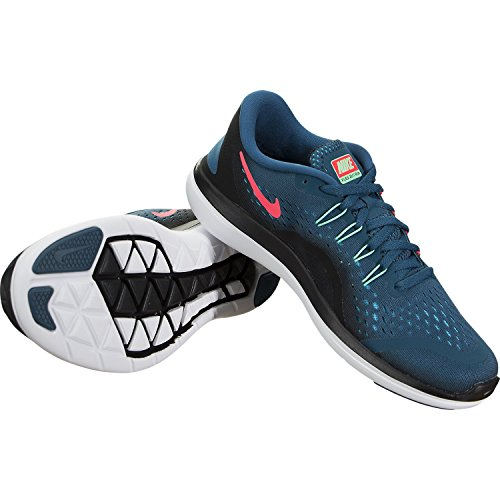 Nike 898476, Zapatillas para Mujer LEGION BLUE/GREEN GLOW-BLA