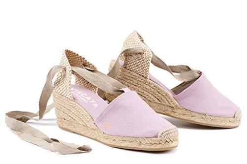 Espadrilles Soft Toe 2 Made Classic Ankle Escala Heel tie Heel Spain In Closed Viscata 5
