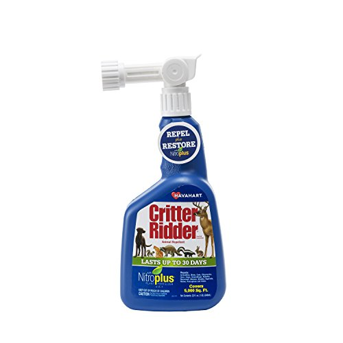 Havahart 3147 Critter Ridder Animal Repellent with Nitroplus, 32 - Repellent Cat Havahart