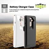 BDR-DL201 Power Bank Back Clip 4000mAh Battery Case
