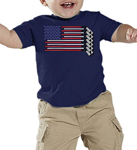Toddler Infant American Hockey T shirt
