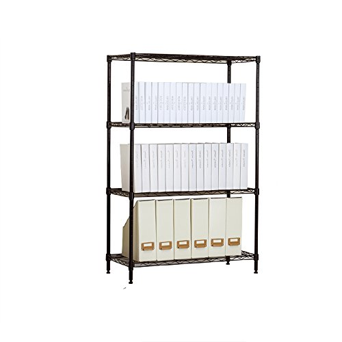 3 or 4 shelves / finishing shelves / simple shelves / display stand / storage rack ( Style : B ) by Shelf-xin
