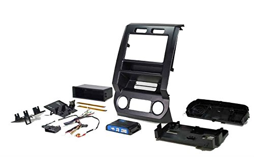 New 2017 Ford F-350 Radio Dash Replacement Kit w/Climate Controls