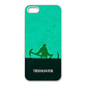 DOTA 2 Tidehunter iPhone 5 5s Cell Phone Case White&Phone Accessory STC_219106