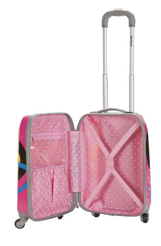 Rockland Luggage Vision Polycarbonate 3 Piece Luggage Set, Love, One Size by Rockland (Image #1)