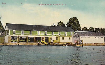 E4399 NY, N. Fair Haven Bay View Hotel Postcard
