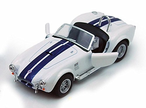 - 1965 Shelby Cobra 427 S/C Convertible, White - Kinsmart 5322/4D - 1/32 scale Diecast Model Toy Car (Brand New, but NO BOX)