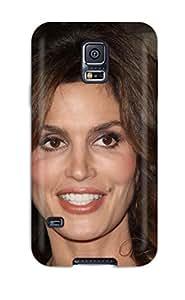 ZippyDoritEduard Perfect Tpu Case For Galaxy S5/ Anti-scratch Protector Case (cindy Crawford )