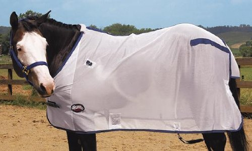 Weaver Mesh Fly Sheet - Size:76'' Color:White