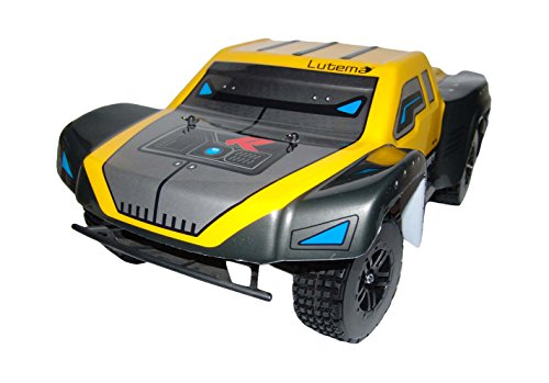 Lutema HYP-R-Baja 2.4 GHz High Speed Remote Control Baja King SUV Truck, Yellow, One (The King In Yellow Costume)