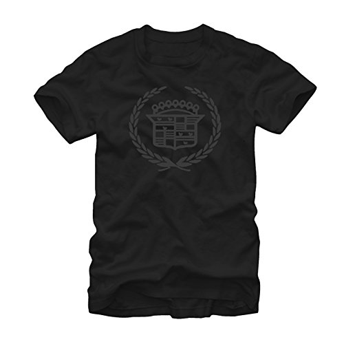Fifth Sun General Motors Men's Cadillac Logo Black T-Shirt