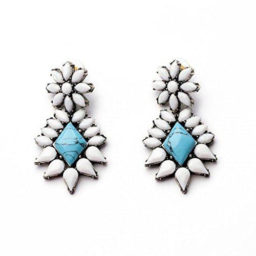 USMagic 2015 New Sale Vintage Earrinfor Women Fashion Statement Fine Jewelry Stud Earrinbrincos Christmas Gift E308