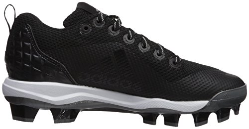 Adidas Originals Mænds Freak X Kulstof Midten Softball Sko Sort / Metallisk Sølv / Hvid xL4qAaEID
