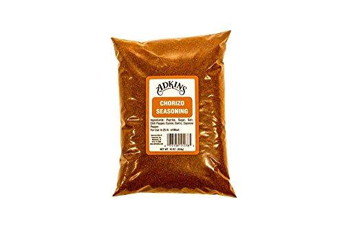 Natural Seasoning (Adkins Chorizo Sausage Seasoning 16 OZ All)
