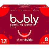 Bubly Cherry Sparkling Water, Cherry, 355 milliliters