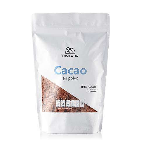Masana Cacao 100% puro en polvo 250g