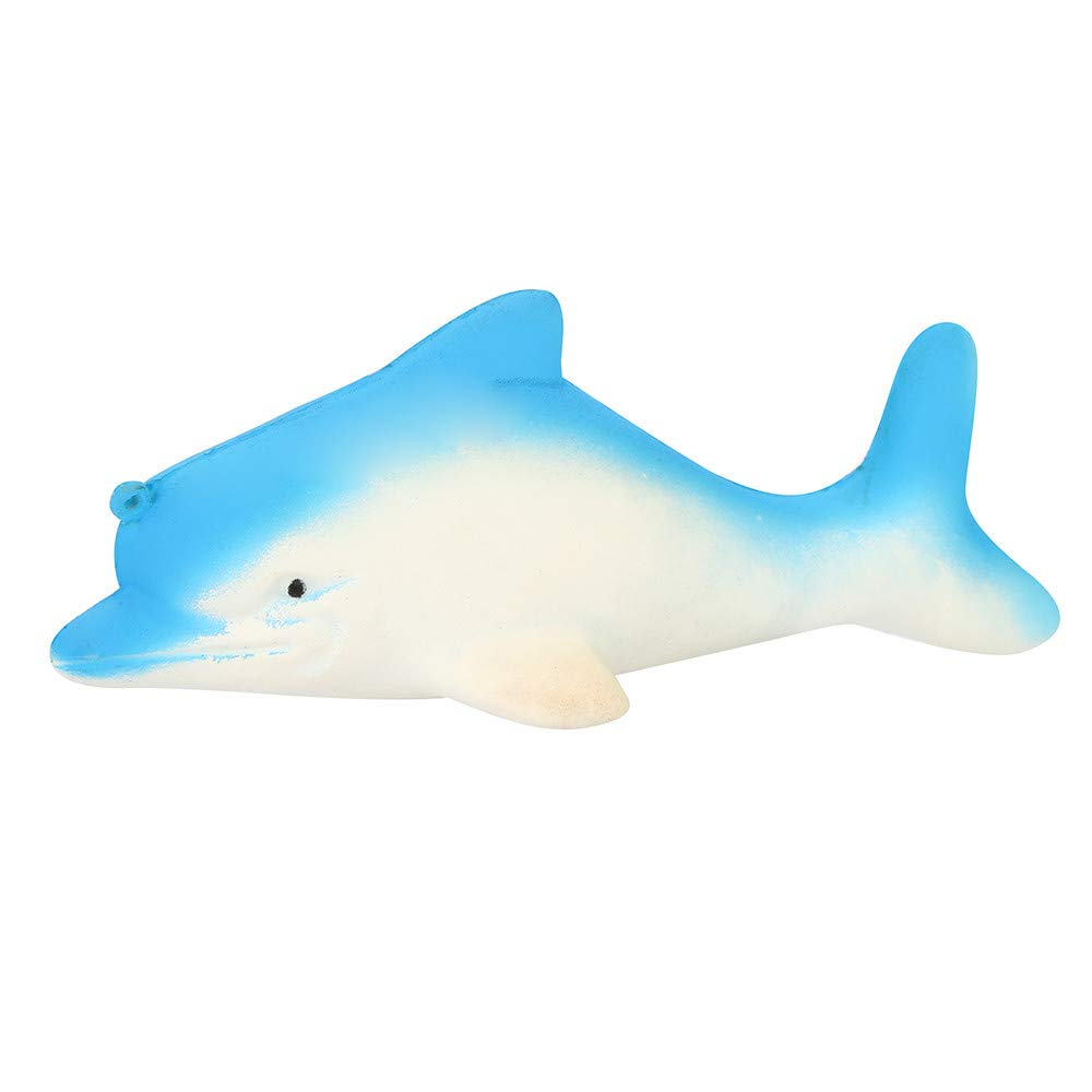 callm Jumbo Squishy Squeeze Toys Ocean Cetacean Slow Rising Soft Scented Charms Squishy Stress Reliever Anxiety Relief Squishies Toys for Kids and Adults
