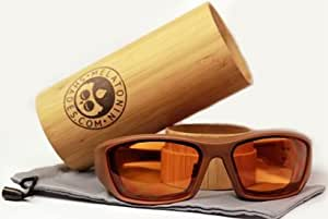 Melatonin Shades ( One pair of amber padded glasses) Melatonin Glasses Brand: Melatonin Shades