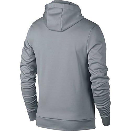 0a5e9a95120 NIKE Jordan Therma Alpha 23 Men s Pullover Training Hoodie Wolf Grey Black