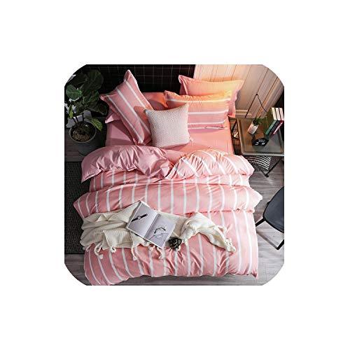LOVE-JING Green Lemon Winter Bedding Sets Full King Twin Queen King Size 4Pcs Bed Sheet Duvet Cover Set Pillowcase Without Comforter,B23,Queen Cover 200By230,Flat Bed Sheet (Lego Queen Sheet Set)