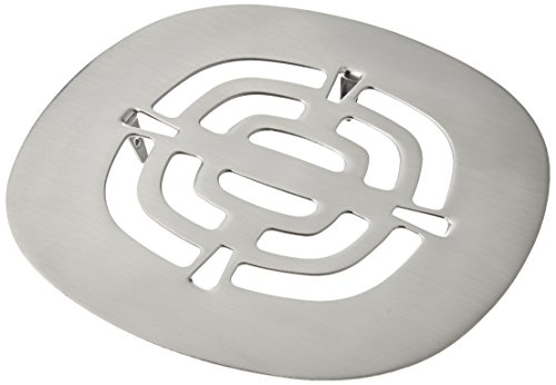 Westbrass Brass Snap-In Shower Strainer Grid, Satin Nickel, D316-07 (Strainer Accessory Shower)