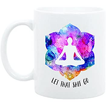 Amazon.com: By Being Yourself 11 ounce Quote Mug Meditation ...