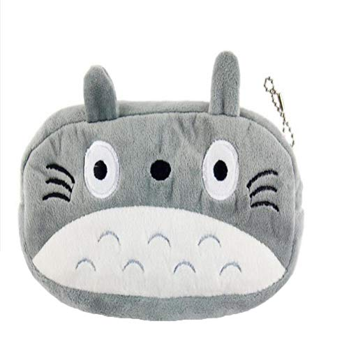 ZQQXV Plush Toy Bag , Plush Cover Coin Bag Purse Design Keychain Plush ()