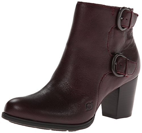 Born Womens Ondine Boot Burgundy Size 7.5
