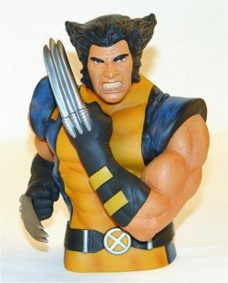 Monogram Marvel Wolverine Unmasked Bust (Wolverine Bust)